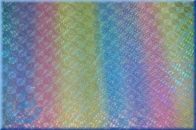 Stoffmuster: Glitzerlycra Regenbogen irisierend - bi-elastisch