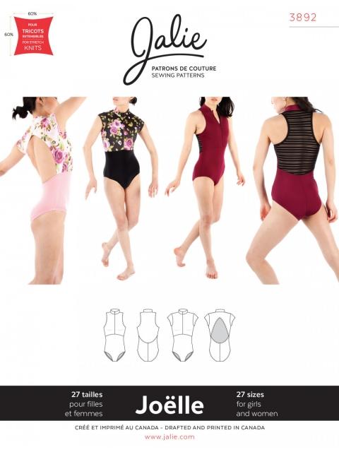 Schnittmuster JOËLLE für Ballett, RSG und Turnen