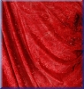 Samt Batik Rot - bi-elastisch