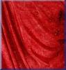 Stoffmuster: Samt Batik Rot - bi-elastisch