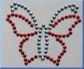 Aufbügelmotiv Schmetterling