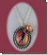 Silberkette mit Eiskunstlauf-Medallion und Schneeflocke