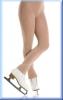 Wärmende Eiskunstlauf-Strumpfhose ohne Fuß