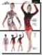 Schnittmuster für RSG, Turnen und Eiskunstlauf
